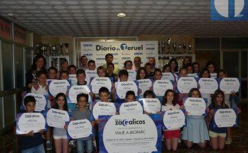 'Diario de Zagalicos': Los alumnos de quinto de Primaria del colegio La Salle Teruel, los mejores periodistas