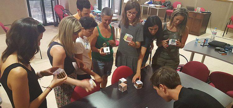 Formación de profesores nuevos de tercer año de La Salle Valencia-Palma en Pont d'Inca