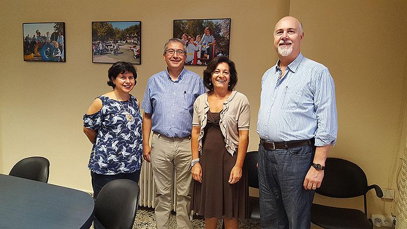 El Hno. José Román Pérez, Visitador del Distrito ARLEP, recorre las Comunidades de Mallorca