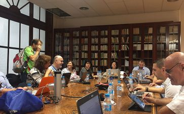 Los directores generales de La Salle Valencia-Palma celebran en Paterna su primera reunión del año