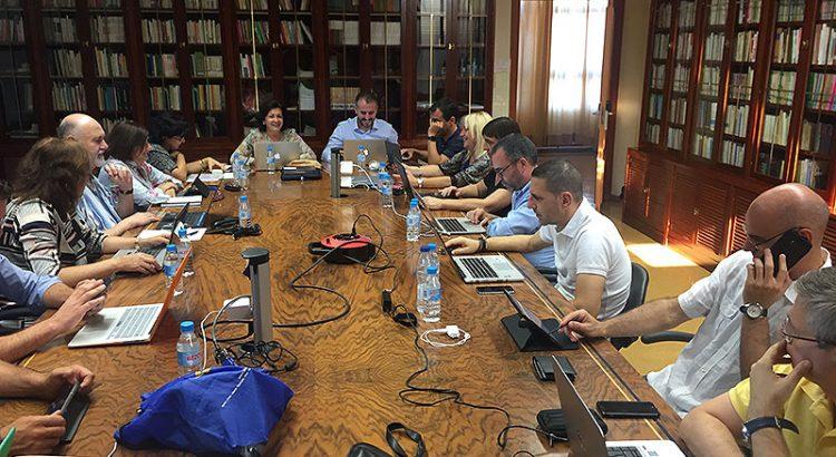 Primera reunión del Equipo de Directores Generales en el curso 2017-18