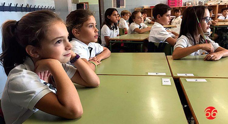 Inicio de curso en el colegio La Salle de Alcoi