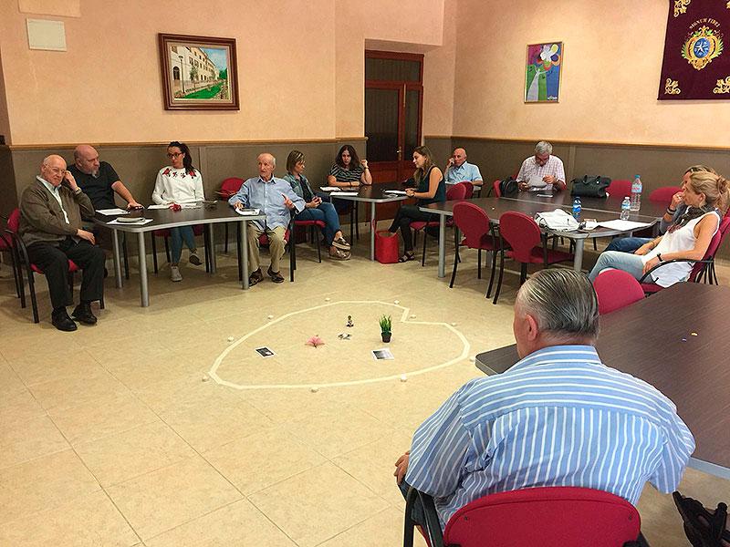 Primer encuentro Proyecto Tres Tiendas 2017-2018