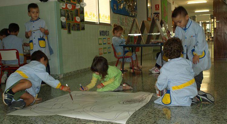 Ambientes de Infantil en La Salle Alaior