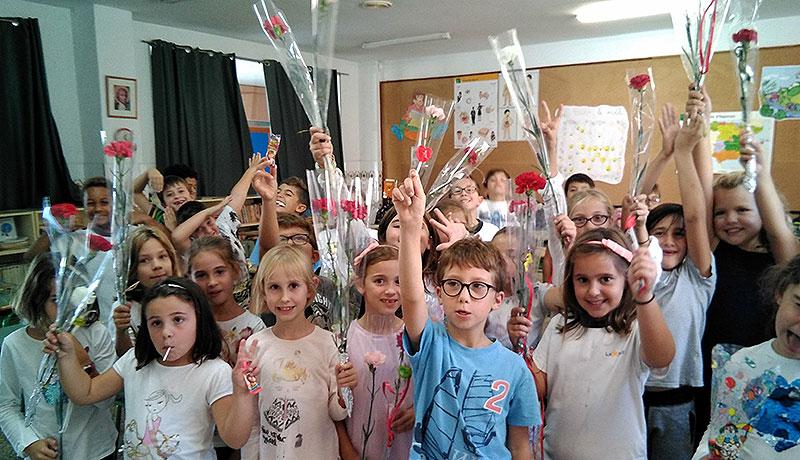 Els alumnes d'Infantil i Primària del col·legi La Salle Palma celebren la festa de Les Verges