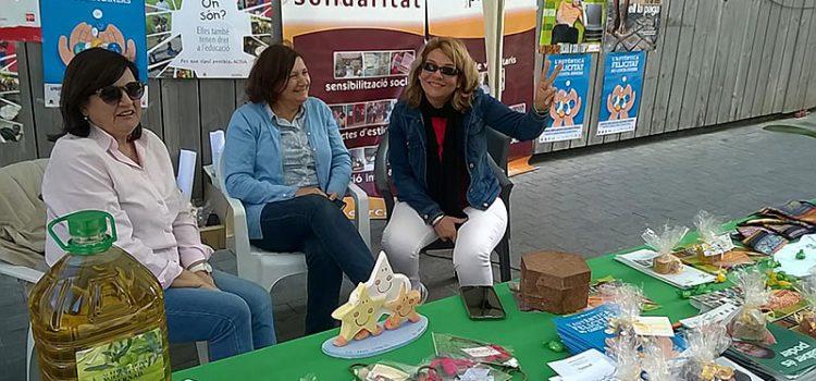 El colegio La Salle Inca participa en la primera 'fira del Dijous Bou'