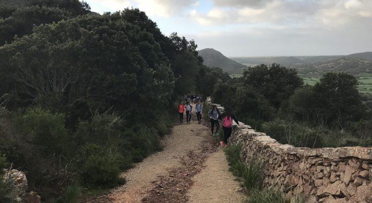 Els alumnos de 2on de la ESO de La Salle Maó visiten Santa Àgueda