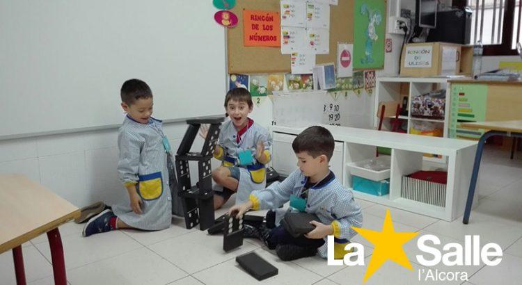La educación activa llega a l'Alcora con los ambientes de aprendizaje en La Salle