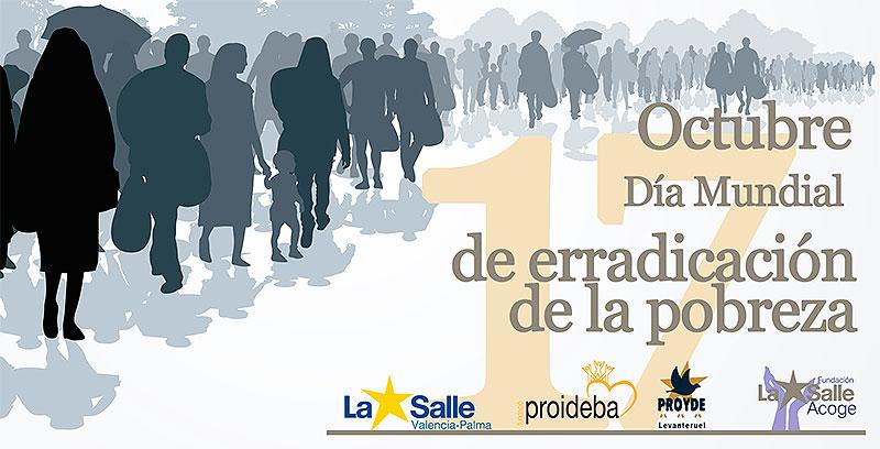 17 de octubre · Día Mundial de erradicación de la pobreza