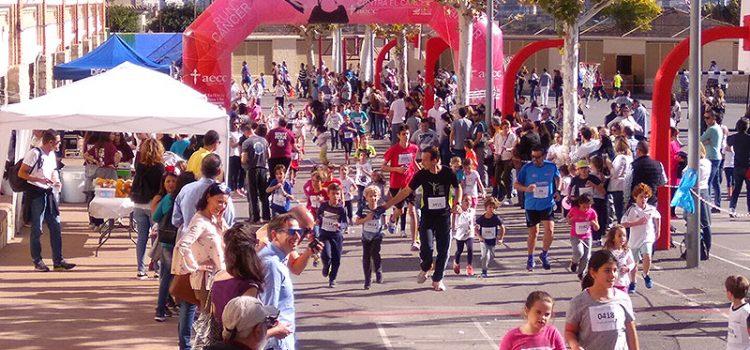 Más de 500 personas participan en la II Carrera Solidaria 'Gente Pequeña' en el colegio La Salle Paterna