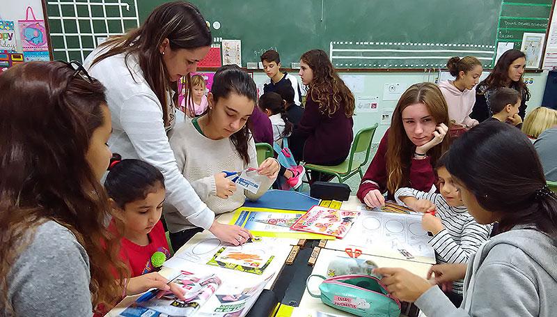 La Salle Alaior pone en marcha el Rincón Científico para alumnos de primaria