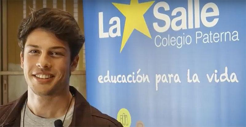 Julio Rizzi, antiguo alumno de La Salle Paterna, lanza su primer álbum