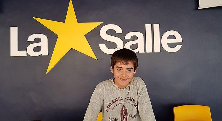 Gabriel Moya, premio extraordinario de La Salle Alcoi