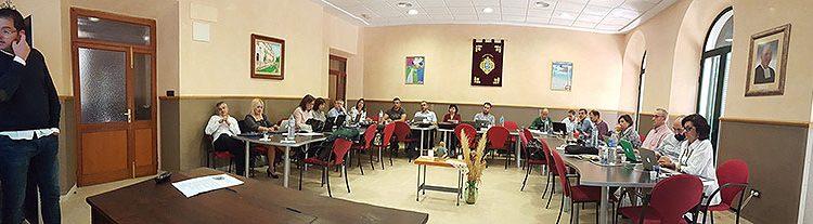 Reunión de directores generales de La Salle Valencia-Palma en Pont d'Inca