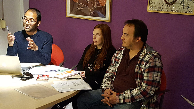 Formación de voluntarios para pisos de emancipación de la Fundación Proideba en Palma