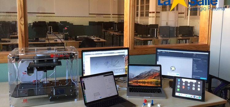 El Colegio La Salle de Paterna apuesta por la innovación tecnológica con una nueva impresora 3D