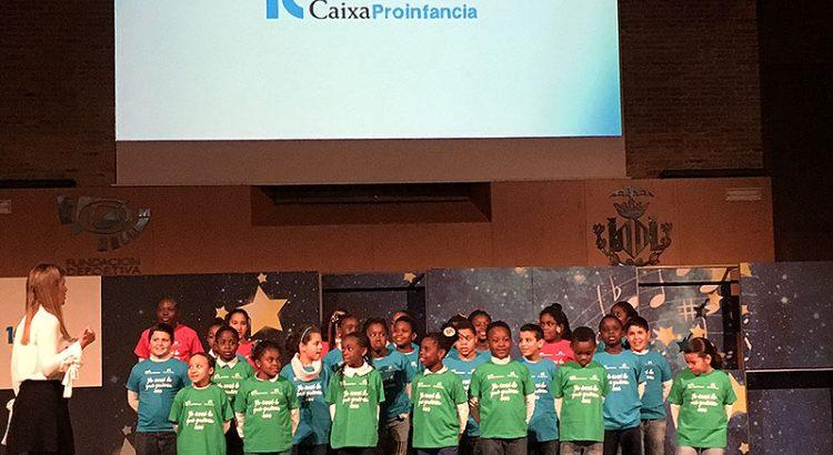 La Fundación La Salle Acoge en la celebración del X aniversario de CaixaProinfancia