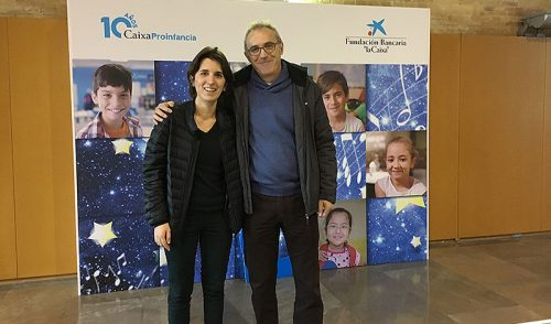 La Fundación La Salle Acoge participa en el acto de celebración del X aniversario de CaixaProinfancia en Valencia