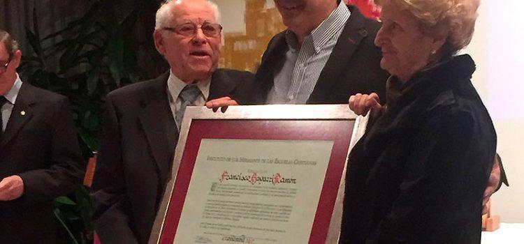 Francisco Bayarri Ramón, nuevo Afiliado al Instituto en agradecimiento a su compromiso con La Salle
