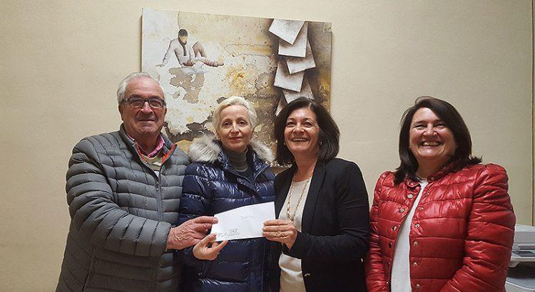 Donativo de la cofradía de La Salle Palma a Proideba