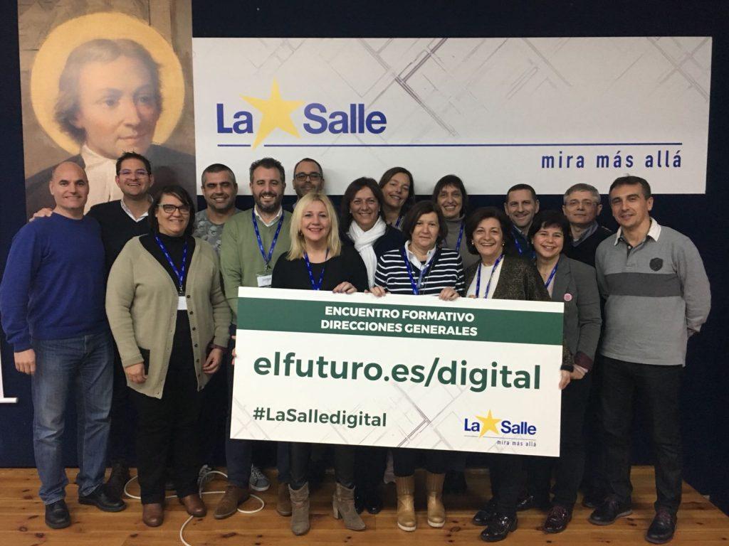 Encuentro en Madrid de directores generales de centros La Salle
