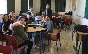 Un grupo de profesores visita La Salle Palma para conocer sus buenas prácticas en Aprendizaje Cooperativo