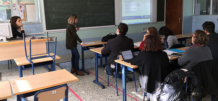 Profesores de la Comunidad Valenciana visitan La Salle Alcoi para conocer sus buenas prácticas en Aprendizaje Cooperativo
