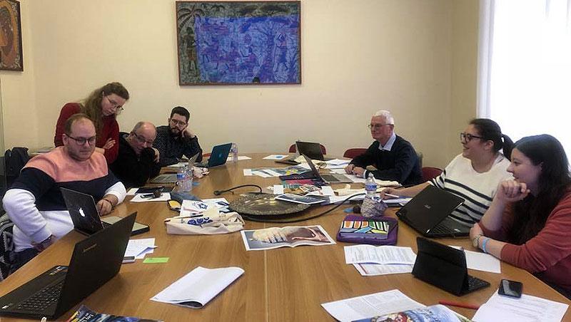 Los jóvenes lasalianos del Consejo RELEM se reúnen en Roma