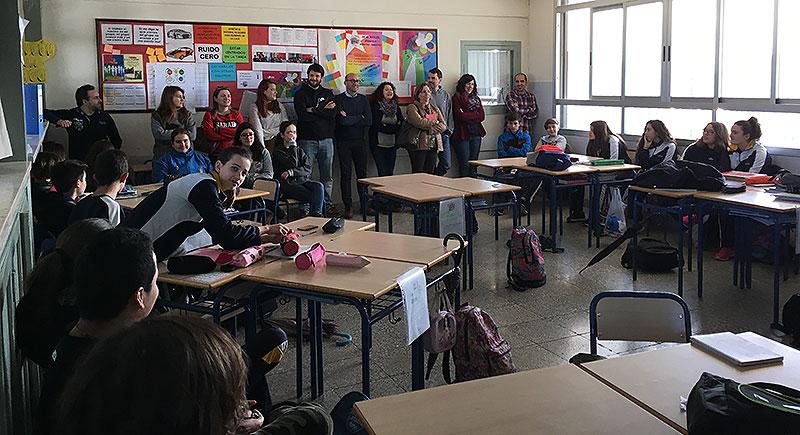 Visita de buenas prácticas en la Escuela Profesional La Salle de Paterna