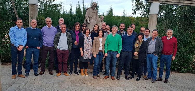 Los directores generales de La Salle del sector Valencia-Palma y el Consejo de la MEL se reúnen en Llíria