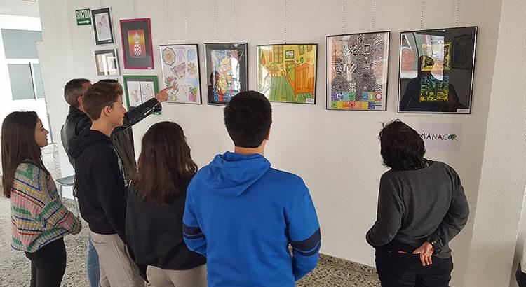 Exposición artística de La Salle en Mallorca