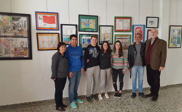 El colegio La Salle de Palma inaugura la muestra artística itinerante 'La Salle aposta per l'art'