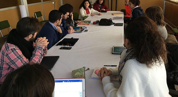 Visita al colegio La Salle Teruel para conocer su trabajo en Aprendizaje Cooperativo