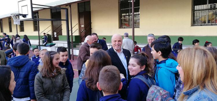 Visita del Superior General de los Hermanos de La Salle, H. Robert Schieler, al Sector Andalucía