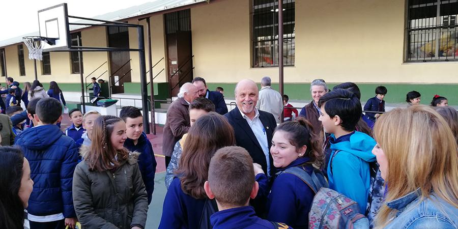 El Hno. Robert visita La Salle Andalucía