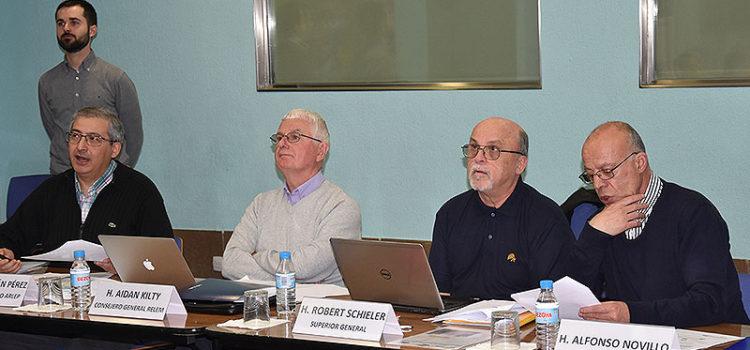 El H. Robert Schieler continúa su visita en España y Portugal con actividades del Distrito ARLEP de La Salle