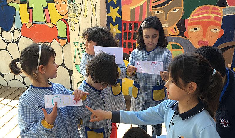 Projectes a 1r de primària a La Salle Manacor: 'El Rei dels 5 Sentits'