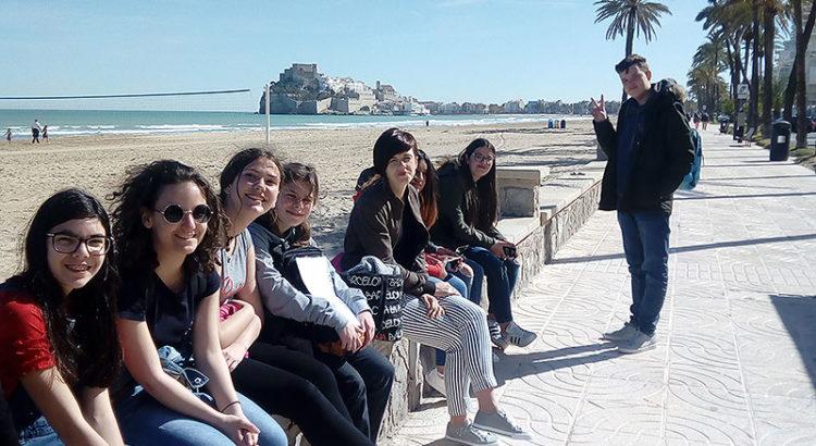Alumnes francesos d'intercanvi a La Salle Benicarló