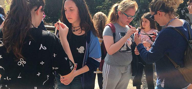 Els alumnes de 3r d'ESO de tots els centres La Salle a Mallorca es reunixen al Santuari de Lluc en una jornada intercol·legial