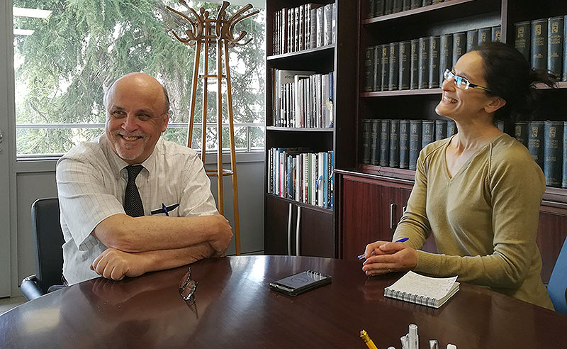 Robert Schieler, Superior General de los Hermanos de La Salle, visita el Sector Catalunya