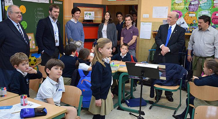 El Superior General de los Hermanos de La Salle, Robert Schieler, en el Sector Madrid