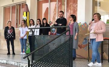 Els alumnes d'ESO de La Salle Maó celebren el Dia de Sant Jordi