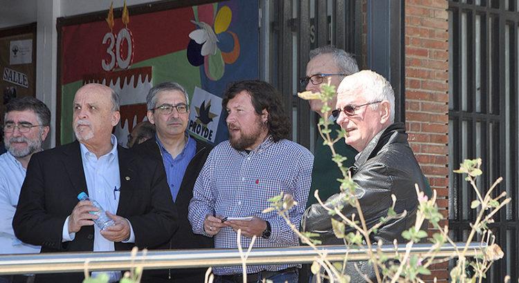 Un mensaje de futuro en la visita del H. Robert Schieler a La Salle Sector Valencia-Palma