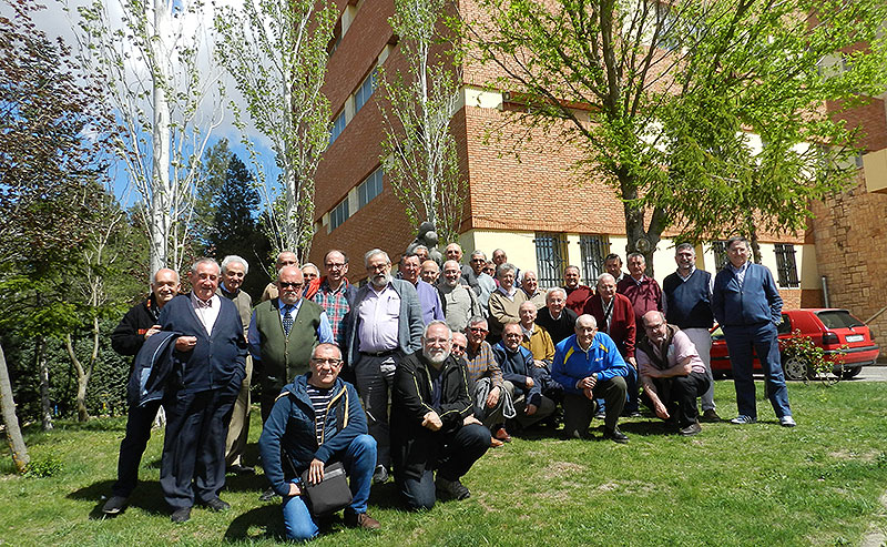 Encuentro de Hermanos y Asociados de La Salle de las zonas 6 y 10 en Teruel