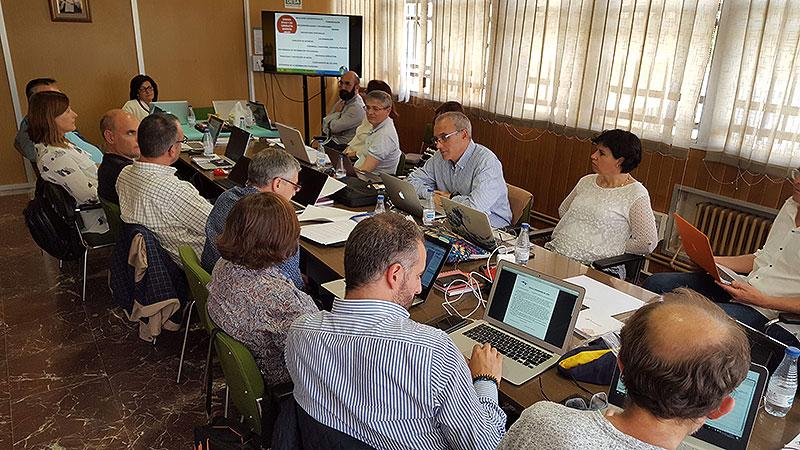 Teruel acoge la reunión de los directores generales del sector Valencia-Palma de La Salle