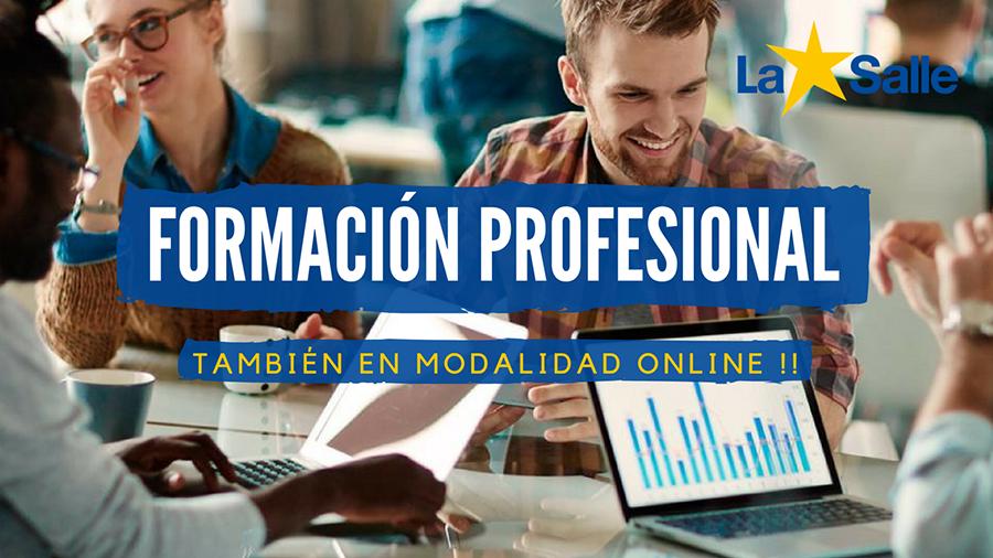 Nueva oferta de Formación Profesional online de La Salle