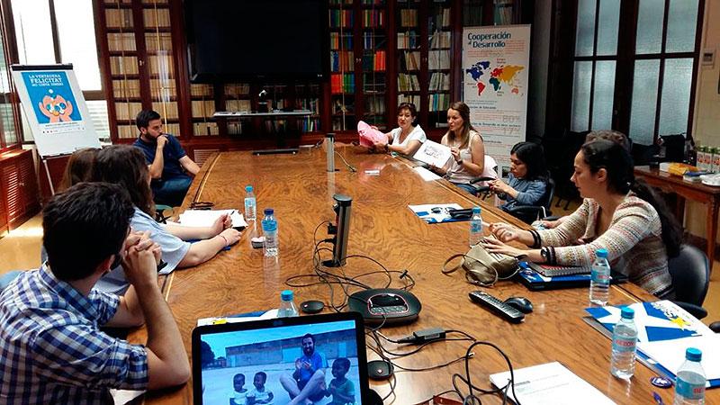 Segundo encuentro de voluntarios internacionales de Proyde Levanteruel en Paterna