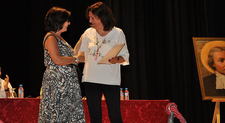 La directora de la Red, Joana Maria Cunill y la directora de La Salle Teruel, Ana Fortea