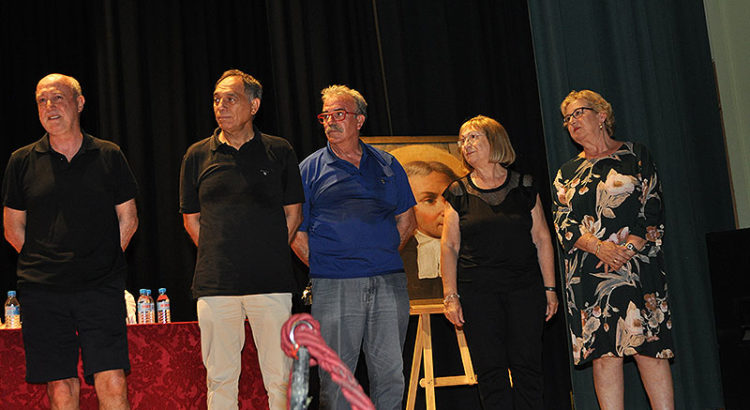 Homenaje a los jubilados en Paterna: María Dolores Chirivella, Antonio Moreno, Francisco García, María Teresa Morales y Pablo Covaleda