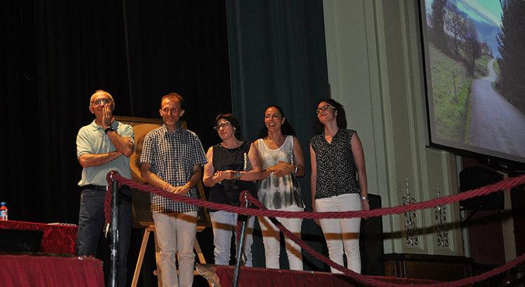 José María Valero, Juan Antonio Martínez, Delfina Gascueña, Lucía Rubio, Elena Fons de la Escuela Profesional